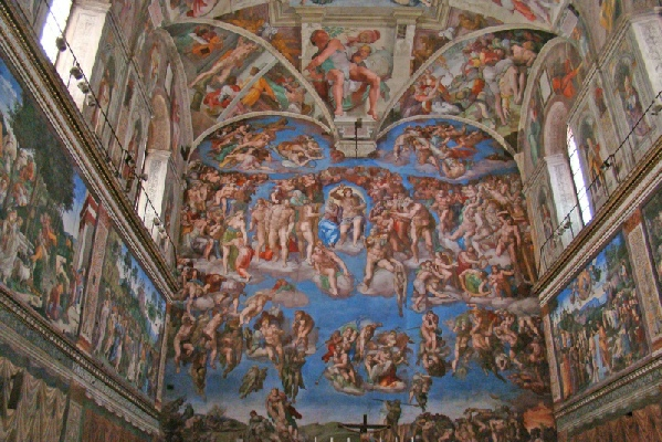 Sistine Chapel Explaining The Many Frescos