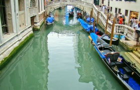Picture of Canal in backstreets of Venice