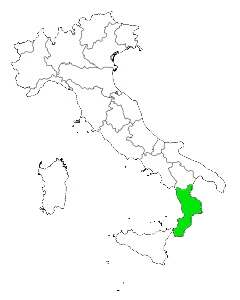 calabria region travel information and planning Map with Cities and Towns of Tuscany Italy map of italy highlighting calabria