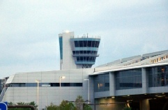 Picture of airport control tower